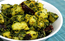 Aloo Methi (Seasonal)